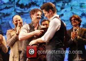 Christian Borle and Roger Rees