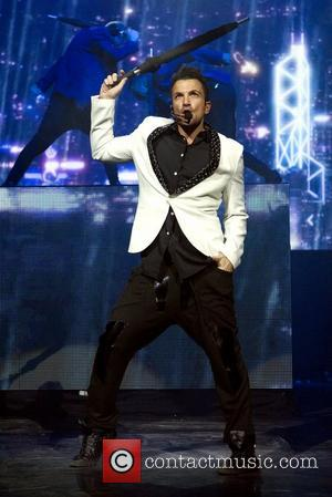 Peter Andre performs a headlining gig at Clyde Auditorium Glasgow, Scotland - 25.11.12