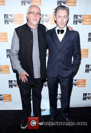 Peter Gabriel and Alan Cumming