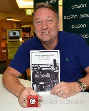 Peter Hook  promotes his new book 'Unknown Pleasures: Inside Joy Division' at Eason  Dublin, Ireland - 08.10.12.