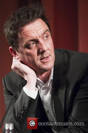 Actor, writer and director Peter Serafinowicz on stage at the BFI Southbank to introduce his choice of film in the...