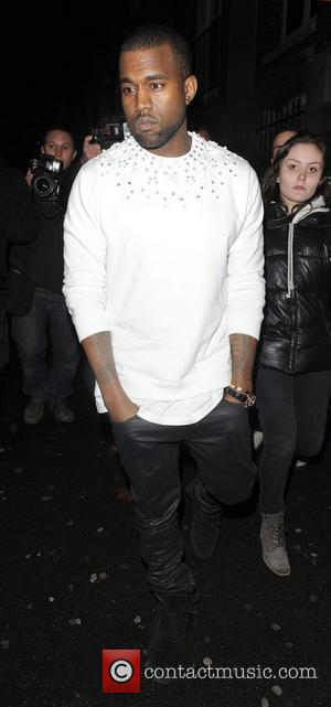 Kanye West  Paris Fashion Week Autumn/Winter 2012 - Givenchy - Departures Paris, France - 04.03.12