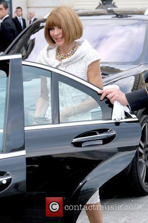Anna Wintour Celebrities depart The Ritz Hotel to attend Paris Fashion Week Fall / Winter 2013  Paris, France -...