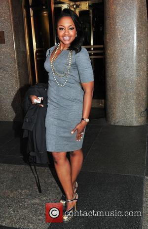 Phaedra Parks leaves NBC Studios by taxi New York City, USA - 03.04.12