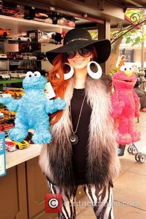 Phoebe Price, Cookie Monster, Elmo, The Grove and West Hollywood