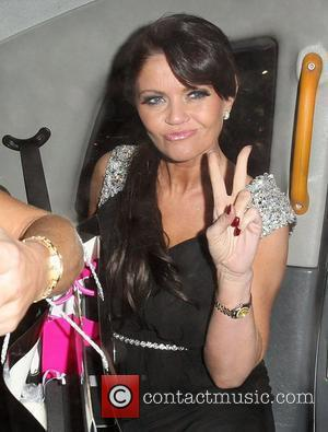 Daniella Westbrook,  at the Pia Michi and Inanch VIP collection launch - Departures. London, England - 15.02.12
