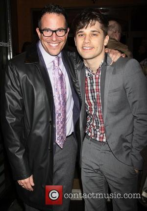 Michael Mayer; Andy Mientus Opening night of 'Picnic' at the American Airlines Theatre - Arrivals  Featuring: Michael Mayer, Andy...