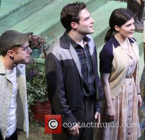 Chris Perfetti, Ben Rappaport and Madeleine Martin