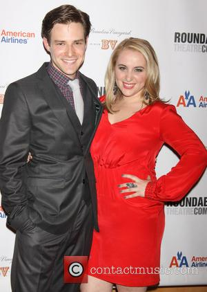 Ben Rappaport; Megan Kane The opening night after party for 'Picnic' at the American Airlines Theatre  Featuring: Ben Rappaport,...