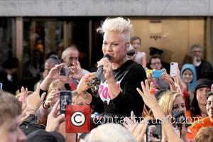 Pink, Alecia Moore, Rockefeller Center, Toyota Concert Series and Today