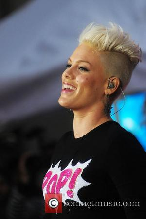 Pink, aka Alecia Moore, performs at Rockefeller Center as part of NBC's Toyota Concert Series on the 'Today Show' New...