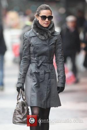 Pippa Middleton walking to work in West London London, England - 21.12.11