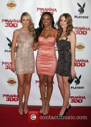 Katrina Bowden, Meagan Tandy, Danielle Panabaker  The 'Piranha 3DD' premiere at Mann Chinese 6 Theaters - Arrivals Los Angeles,...