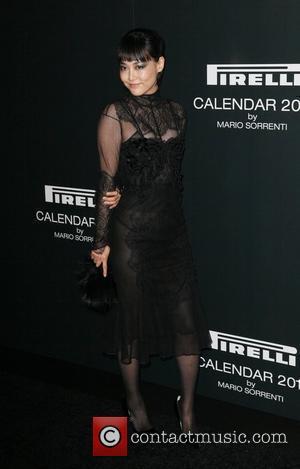 Rinko Kikuchi The 2012 Pirelli Calendar gala dinner at the Park Avenue Armory New York City, USA - 06.12.11