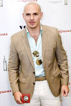Pitbull aka Armando Cristian Perez promotes Voli Light Vodka during an appearance at Walgreens on State Street Chicago, Illinois -...