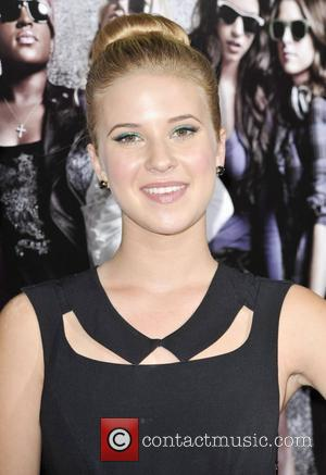 Caroline Sunshine  Los Angeles premiere of 'Pitch Perfect' at ArcLight Hollywood - Arrivals Los Angeles, California - 24.09.12