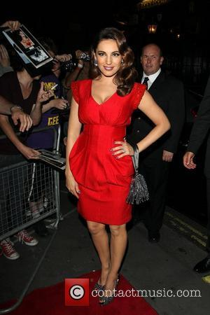 Kelly Brook and Odeon West End