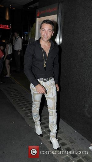 Gino D'Acampo 'Keith Lemon the Film' World premiere held at the Odeon West End - After Party at Planet Hollywood...