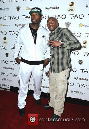 50 Cent, Floyd Mayweather Jr. and Tao Nightclub