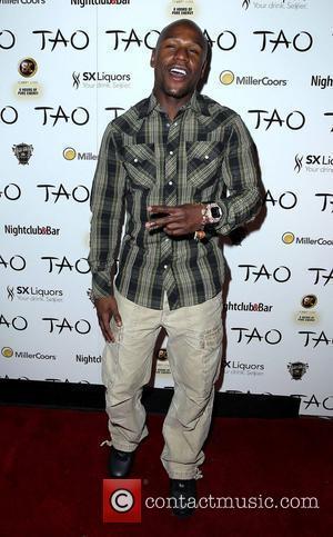 Floyd Mayweather Jr. and Tao Nightclub