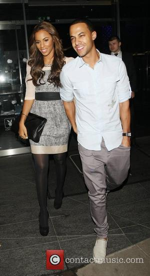 Rochelle Wiseman and Marvin Humes leaving the Playboy club London, England - 28.02.12
