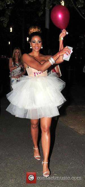Layla Flaherty,   arriving at Playground Nightclub for Danielle Lloyd's hen night. Liverpool, England - 12.05.12