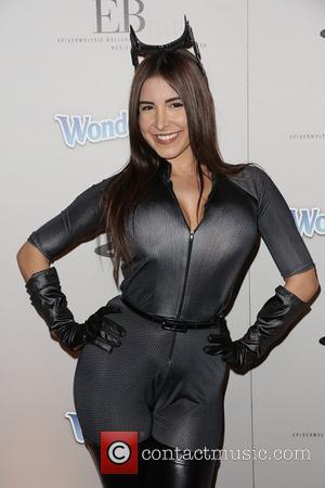 Mayra Veronica PlayStation Epic Halloween Bash - Arrivals Los Angeles, California - 27.10.12