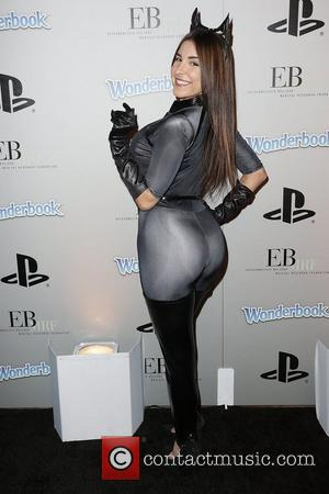 Mayra Veronica PlayStation Epic Halloween Bash - Arrivals Los Angeles, California - 27.10.12