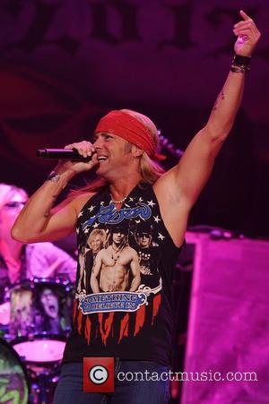 Bret Michaels Poison performs during the Rock of Ages Tour 2012 at the Bank Atlantic Center  Sunrise , Florida...