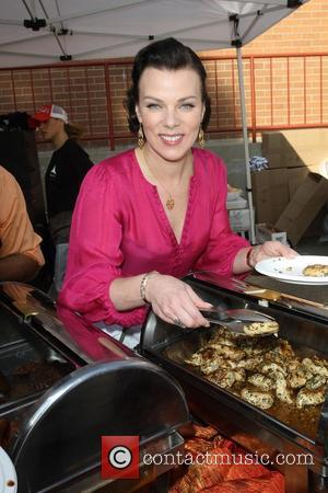 Debi Mazar Chamber Of Commerce 17th Annual Police And Fire BBQ held at the Hollywood LAPD and Fire Division Hollywood,...