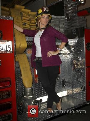 Marlee Matlin Chamber Of Commerce 17th Annual Police And Fire BBQ held at the Hollywood LAPD and Fire Division Hollywood,...