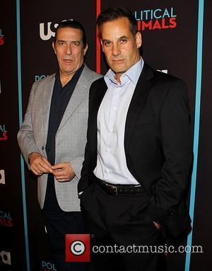 Ciaran Hinds and Adrian Pasdar