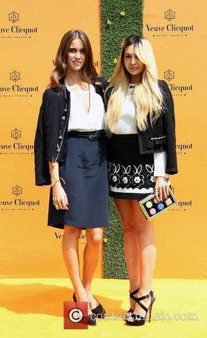 Jade Williams and Zara Martin Veuve Clicquot Gold Cup - Polo tournament held at Cowdray Park Polo Club  Midhurst,...