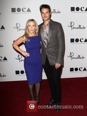 Rachael Harris and Cameron Silver