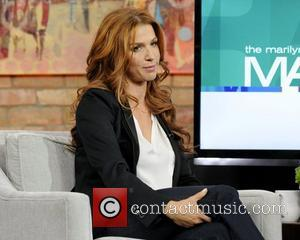 Poppy Montgomery  appears on The Marilyn Denis Show. Toronto, Canada - 13.01.12