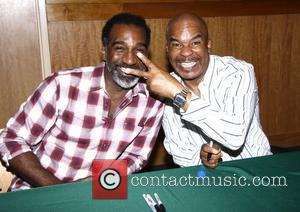 Norm Lewis and David Alan Grier  CD Signing for the New Broadway Cast recording of The Gershwins' 'Porgy and...