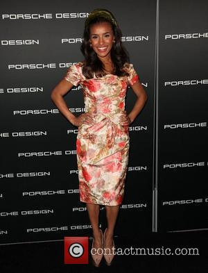 Melody Thornton Porsche Design's 40th Anniversary Event held at a private residence Los Angeles, California - 04.09.12