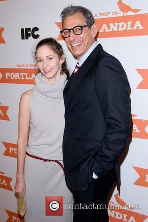 Jeff Goldblum and Guest The second season premiere of 'Portlandia' at the Museum of Natural History New York City, USA...