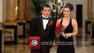 Joey Fatone and Danica Mckellar