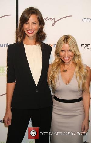 Christy Turlington and Tracy Anderson