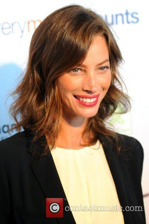Christy Turlington    The Tracy Anderson Method Pregnancy Project launch party, held at the Standard Hotel - Arrivals...