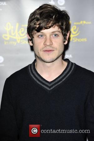 Iwan Rheon,  at the UK film premiere of Undefeated at Curzon Mayfair. London, England - 29.11.12