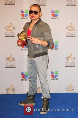 Larry Hernandez Premio Lo Nuestro a La Musica Latina at the American Airlines Arena - Press Room Miami, Florida -...