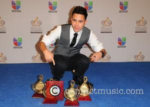 Prince Royce Premio Lo Nuestro a La Musica Latina at the American Airlines Arena - Press Room Miami, Florida -...