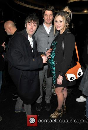 Tom Meighan; Jesse Wood; Fearne Cotton Rock stars and celebrities attend Liam Gallagher's 'Pretty Green London Collections: Men's Autumn/Winter 2013...