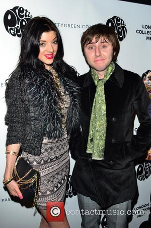 James Buckley; Marie Louise Smith Rock stars and celebrities attend Liam Gallagher's 'Pretty Green London Collections: Men's Autumn/Winter 2013 Launch'...