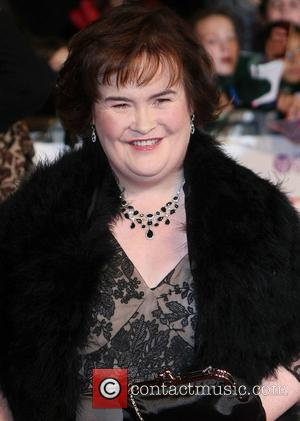 Susan Boyle The Daily Mirror Pride of Britain Awards 2012 held at Grosvenor House hotel - Arrivals  London, England...