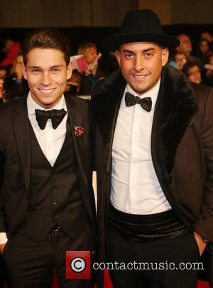 Joey Essex, James Argent and Grosvenor House