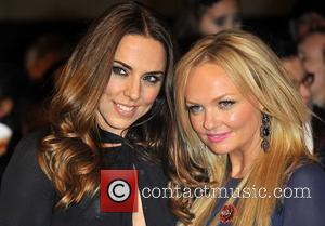 Melanie Chisholm, Mel C, Emma Bunton and Grosvenor House