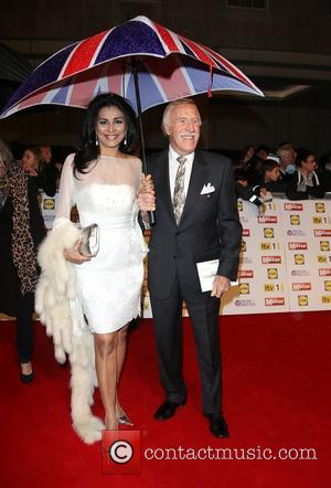 Bruce Forsyth and wife Wilnelia The Daily Mirror Pride of Britain Awards 2012 held at Grosvenor House hotel - Arrivals...